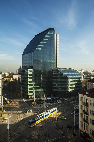 Gek Terna Quot City Tower Quot Business Center Sofia Bulgaria